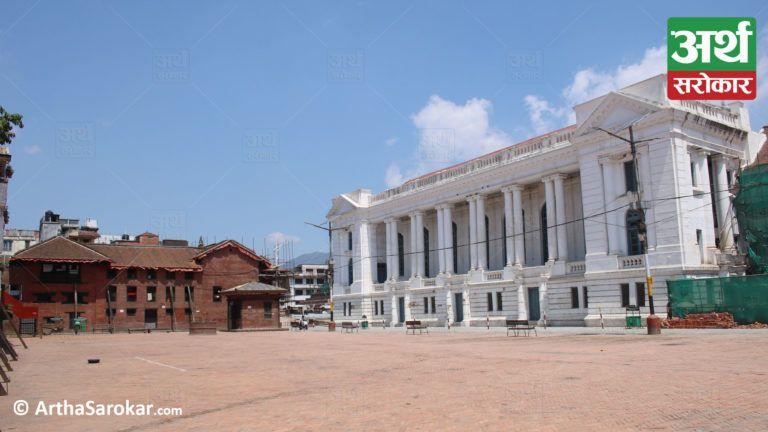 लकडाउनमा यस्तो देखियो बसन्तपुर, 'मास्क लगाएकै सही', पर्यटक कुरिरहेछ बसन्तपुर ! (फोटो-कथा)
