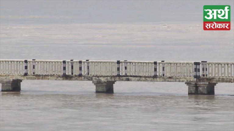 सप्तकोशी नदीमा पानीको वहाव यस वर्षकै उच्च, अधिकांश क्षेत्रहरु जलमग्न हुँदा २९ वटा ढोका खोलिए (भिडियो रिपोर्ट)