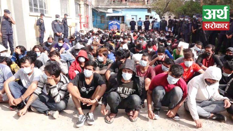 कोड भाषा प्रयोग गरी काठमाडौंका विभिन्न स्थानमा पाकेटमारी र चोरी गर्ने २०७ जना पक्राउ, ४६ जना जेल चलान (भिडियो रिपोर्ट)
